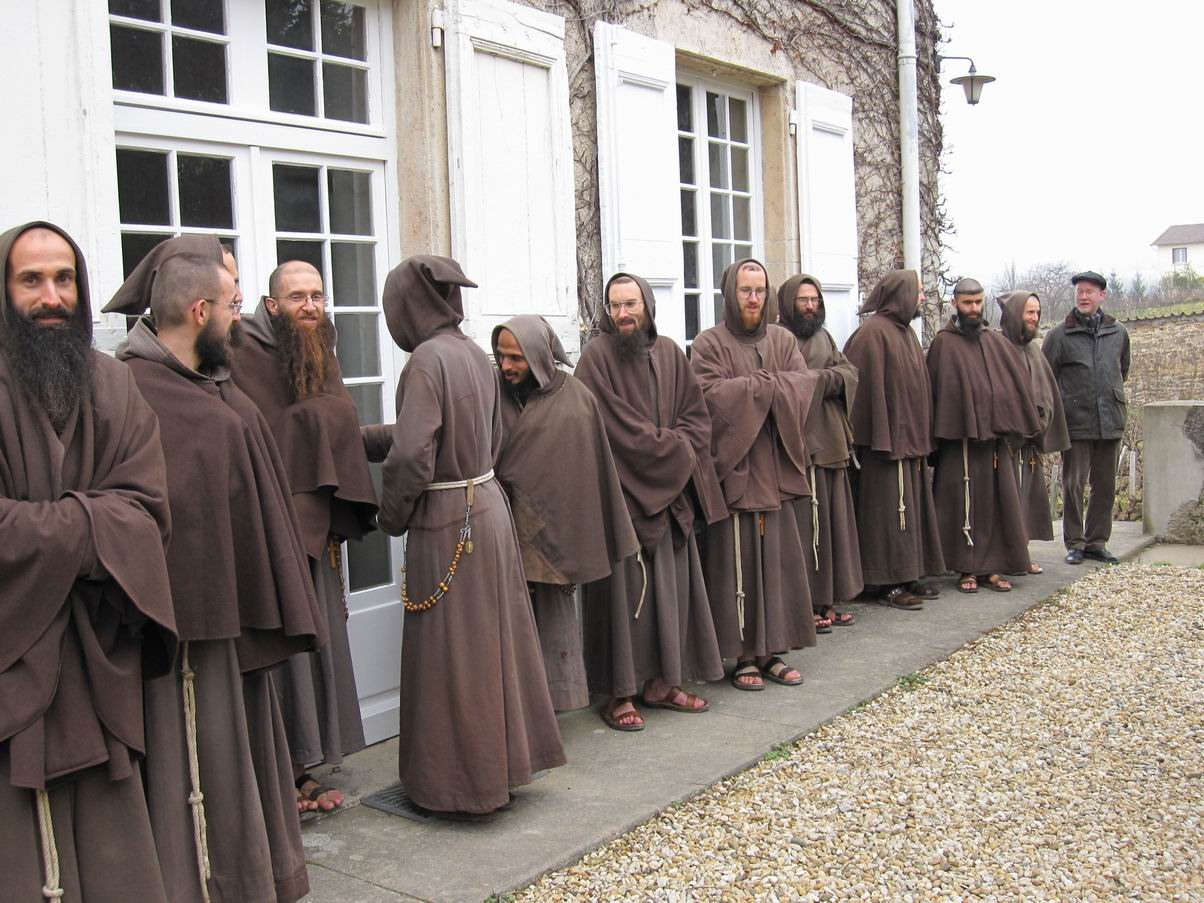 The gallery for franciscan monk habit for The franciscan