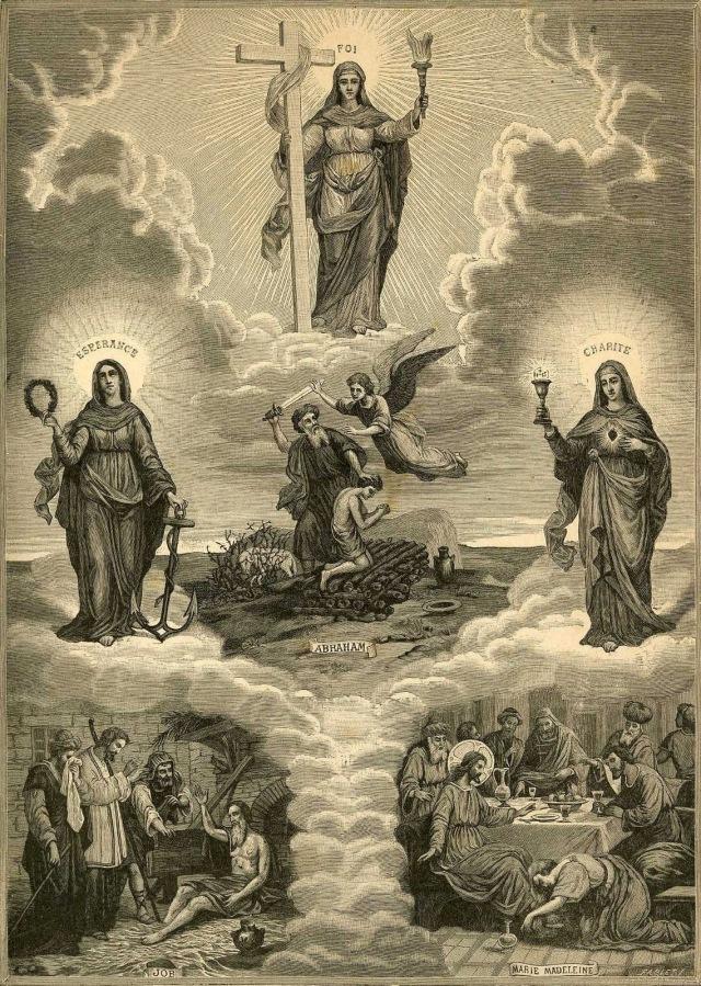 As Virtudes Teologais: a Esperança, a Fé e a Caridade