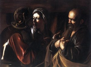 Pedro nega a Cristo por três vezes