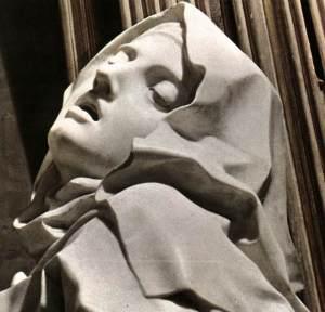 O êxtase de Santa Teresa (detalhe), de Bernini
