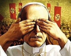 Eis aí a imparcialidade e a justiça do mundo para a Igreja; propaganda anti-católica e caricata a memória deste papa que hoje em dia, em nome da bajulação da Igreja Conciliar ao mundo, congelou seu processo de beatificação.