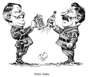 Totalitarismo nazi-comunista.