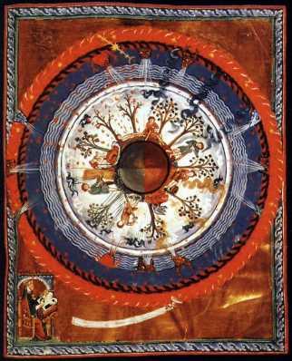 Visão de Santa Hildegarda
