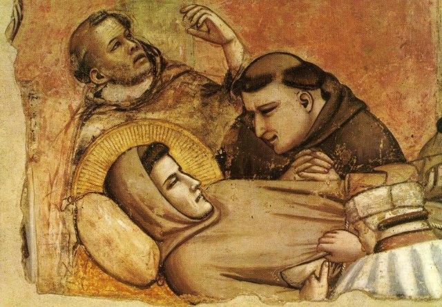 Giotto: a morte de São  Francisco