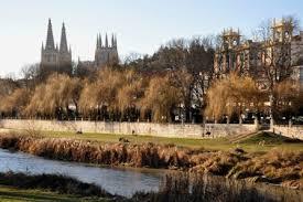 Paisagem de Burgos, cidade típica da Velha Castela