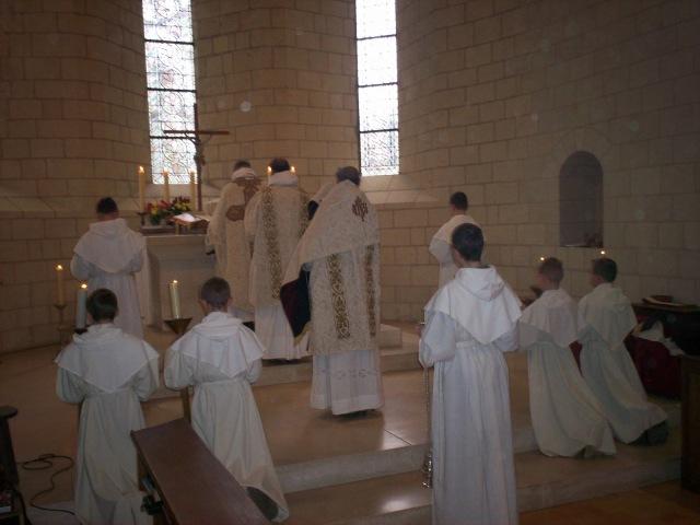 Missa solene em rito dominicano