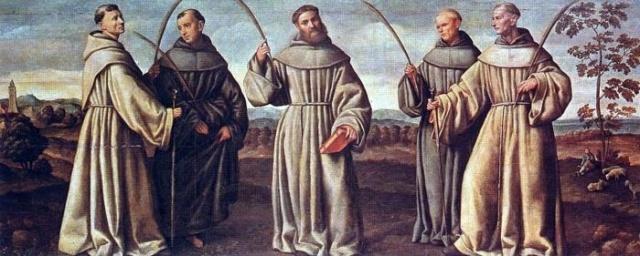 Os cinco proto-mártires franciscanos