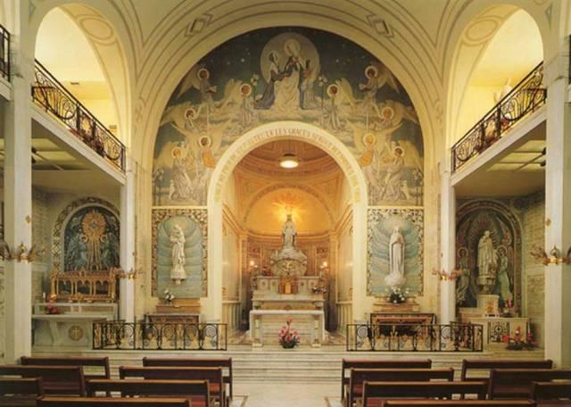 Capela das Aparições, convento da Rue du Bac