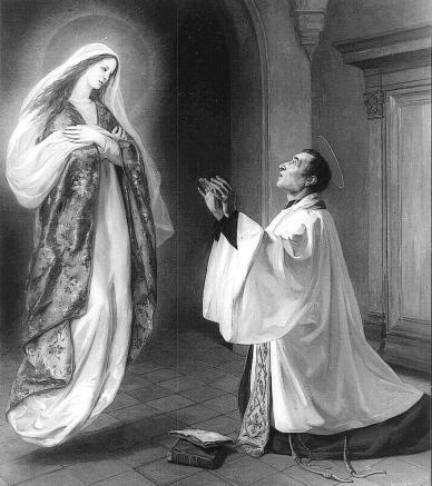 São Luís Maria Grignion de Montfort e a Santíssima Virgem
