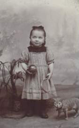 Teresa aos 4 anos