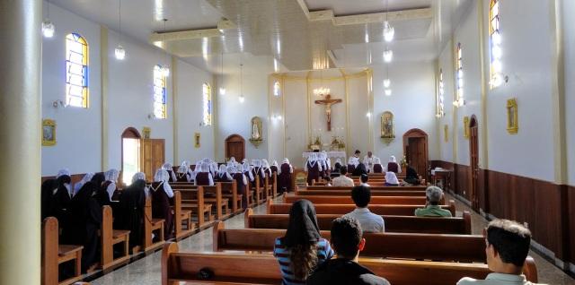 Interior da Igreja do Santo Rosário, Anápolis/GO