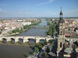 Cidade de Zaragoza (Saragoça), Espanha.